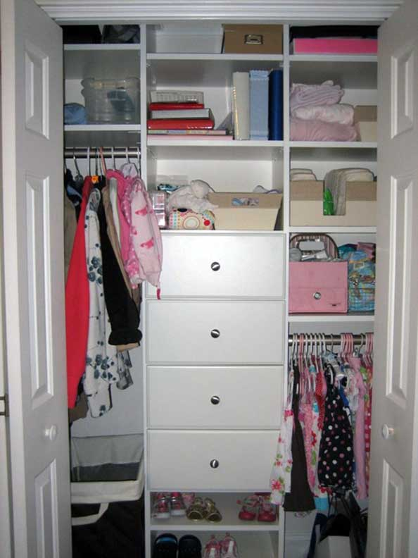 An Organized Life - Kid's Closet After