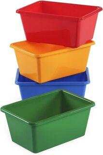 budget friendly toy bins