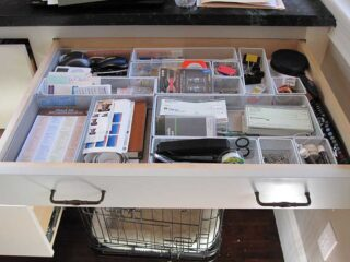 Everything Drawer after Organizing