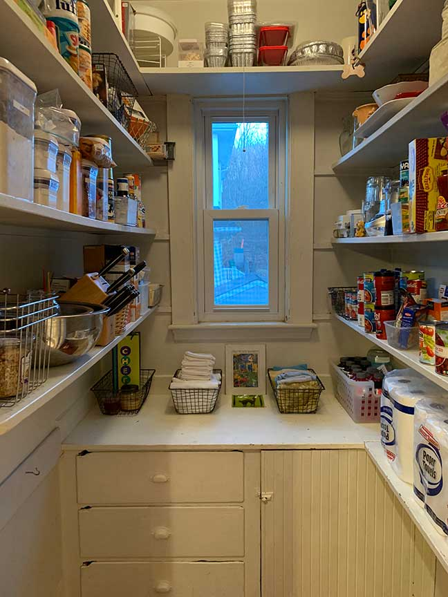 An Organized Life - Pantry After Organizing