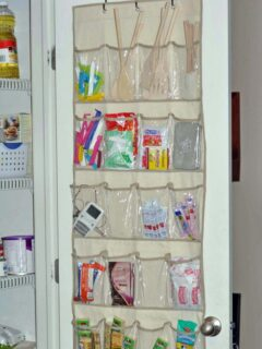 shoe bag for organizing on a budget
